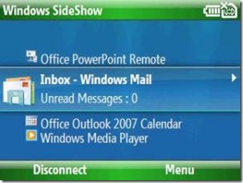 Michael's Blog: Sideshow for Windows Mobile