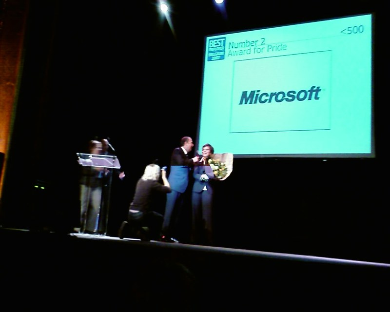 Microsoft Belux wins second prize in Best Employer Awards